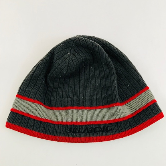 78040c1c7b Billabong Other - Billabong men s winter hat gray and red